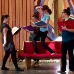 Little Women: The Broadway Musical 2018 - Rehearsal